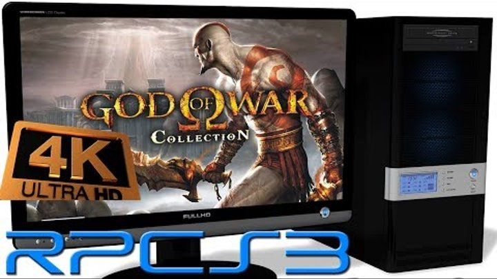 RPCS3 0.0.4 PS3 Emulator - God of War 1 HD (4K UpScale) LLVM Vulkan (Auto LLE) Improved #11