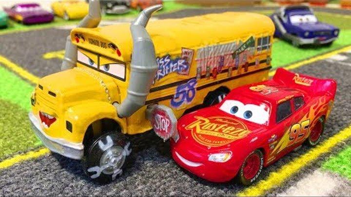Тачки Молния Маквин Мисс Крошка Мультики про Машинки Игрушки Мультфильмы для Детей
