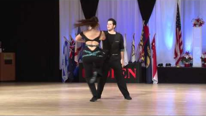 Maxence Martin & Virginie Grondin - 2014 US Open Classic Division