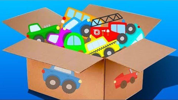 Мультики про машинки. Пожарная машина. Полицейская машина. Машинки для детей. НОВЫЕ СЕРИИ