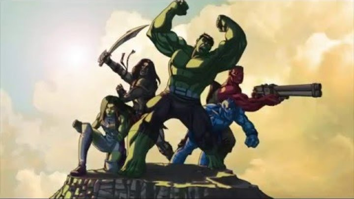 Халк и агенты СМЭШ - Планета-монстр. Часть 1 - Сезон 2, Серия 25 | Marvel