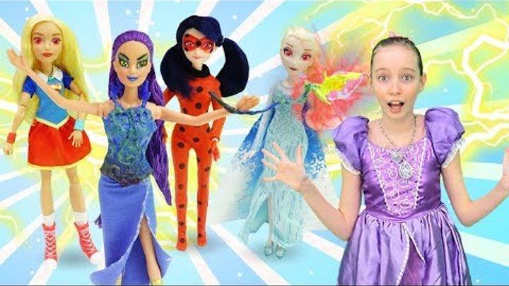 Принцесса София - Герои мультфильмов на вечеринке. Игрушки для девочек.