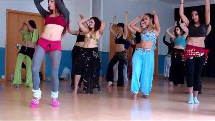 Танец живота Попова Ирина.мастер класс. Франция
