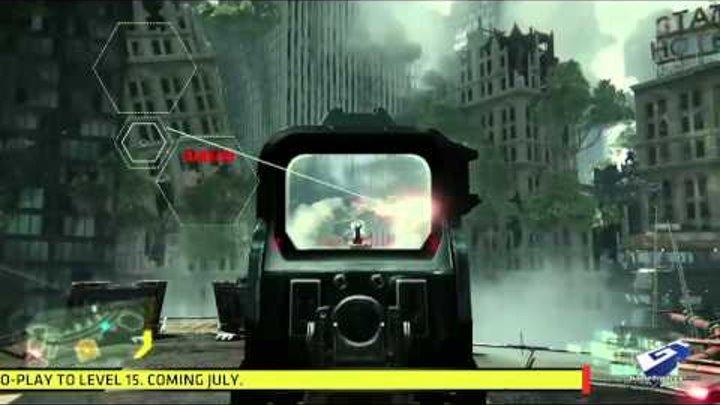 Crysis 3 E3 2012: Firefight Gameplay Demo