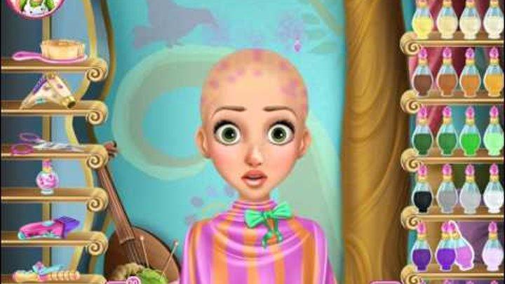 Прическа Рапунцель Прекрасная Дисней Принцесса Онлайн Игры Для Девочек Мультик 2015