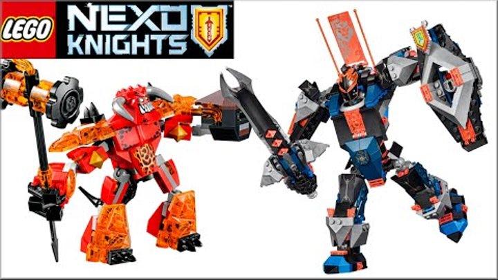 Новое LEGO NEXO KNIGHTS Логово Джестро, Абсолютные силы Флама и Магмар. Нексо Щиты Рыцари Лего фото