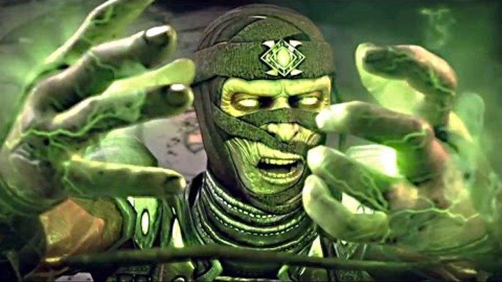 Mortal Kombat X Ermac & Sub Zero SECRET SECOND FATALITY - Mortal Kombat 10