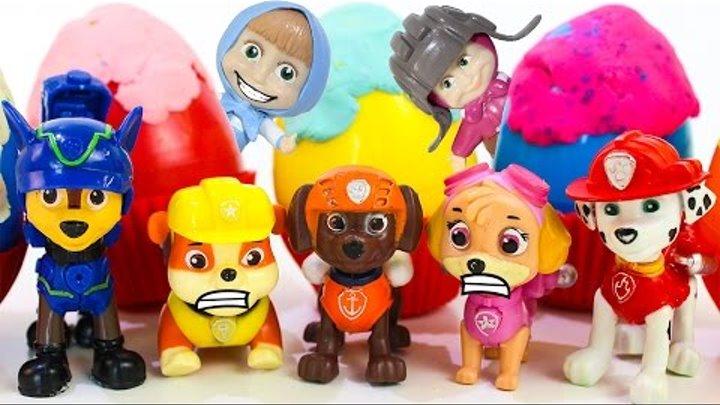 Маша и Медведь все серии подряд Игрушки Щенячий патруль новые серии Развивающие мультики для детей
