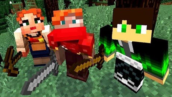 НОВОЕ ВЫЖИВАНИЕ С РОДИТЕЛЯМИ в МАЙНКРАФТ. Игра Minecraft PE 0.14.3 на телефоне