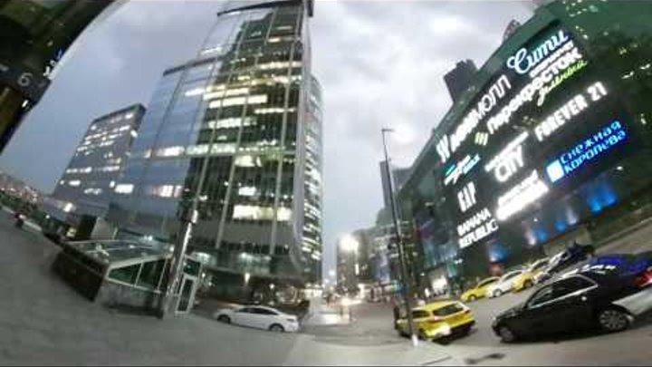 Москва сити видео 360 градусов 4К - Moscow City 360 4K video