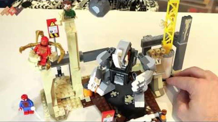 Обзор Lego Super Heroes 76037 Лего Рино и Песочный человек. В продаже на TOY.RU