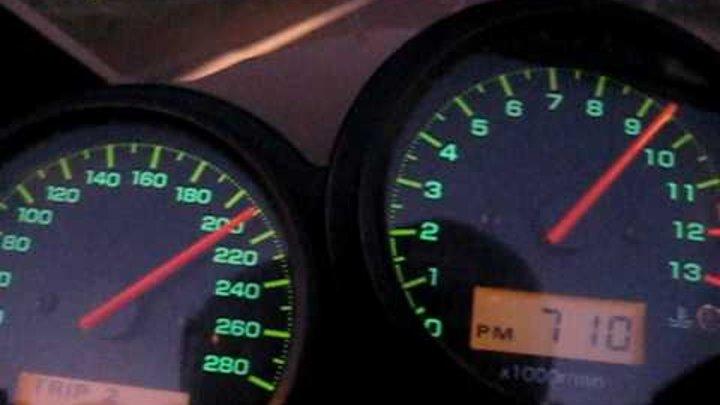 High speed cruising FZS1000 Fazer