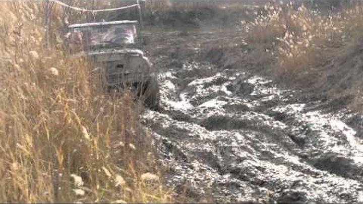 Гонки внедорожников Осень 2013 года, овраг Бартоломеевский, Саратовкая область Регион 64 #13