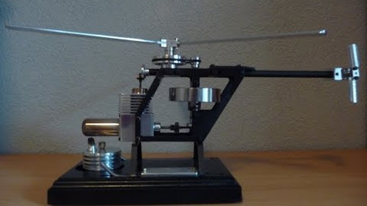 Stirling engine Helicopter