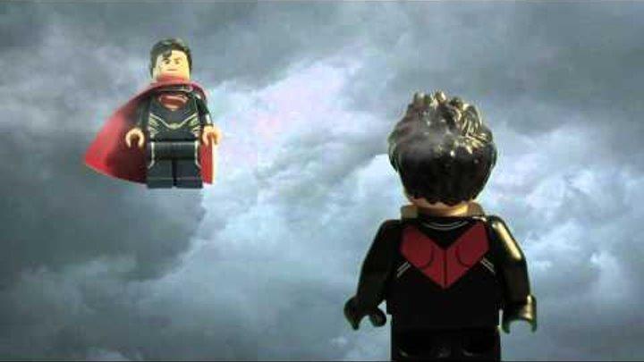 Lego Batman vs Superman Бэтмен против СуперМэна