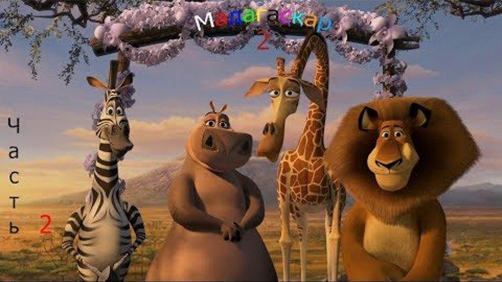 Мадагаскар 2.Часть 2 Подготовка к взлету