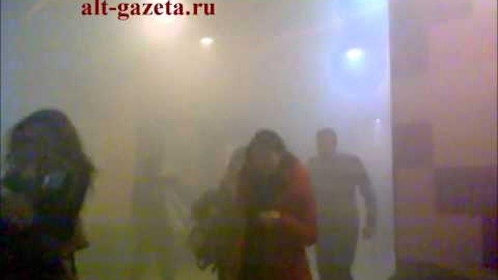 """Пожар в 4-х зальном кинотеатре """"Люксор"""""""