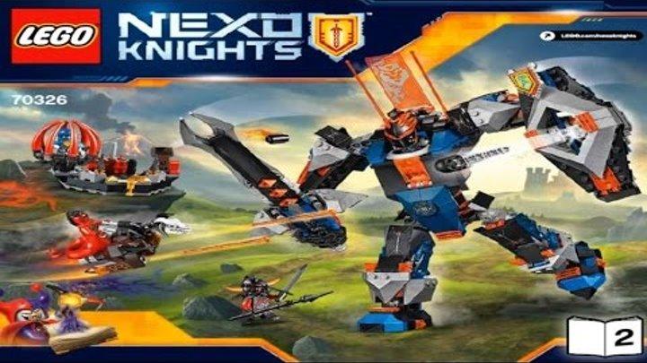 LEGO Nexo Knights 2016 THE BLACK KNIGHT MECH 70326 - Лего Рыцари Нексо РОБОТ ЧЁРНЫЙ РЫЦАРЬ #2