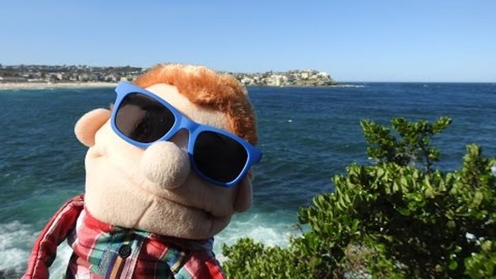 Знаменитый пляж Бонди - Сидней, Австралия