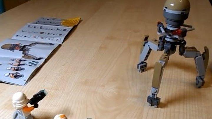 Как собирать робота из конструктора Лего. Обучающее видео для детей. How to make a LEGO robot
