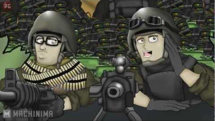 Друзья по Battlefield - Кемперы (2 сезон 3 серия)
