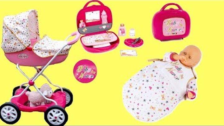 Baby Dolls Nursery Toys Dolls Pram Sleeping Bag Vanity Case Baby Annabell Baby Born