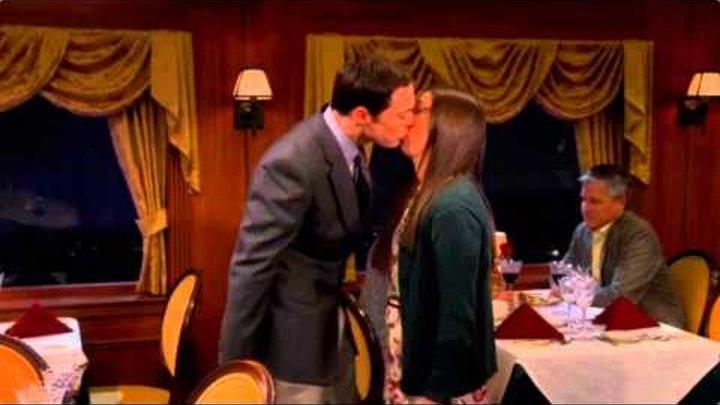The Big Bang Theory - Sheldon & Amy Kiss