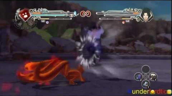 Naruto Generations - Naruto vs Sasuke, JPN Demo