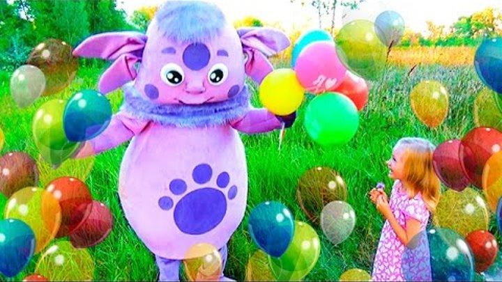 ЛУНТИК сюрпризы от Лунтика Новые серии с Киндер Сюрпризами Luntik Kinder Surprise