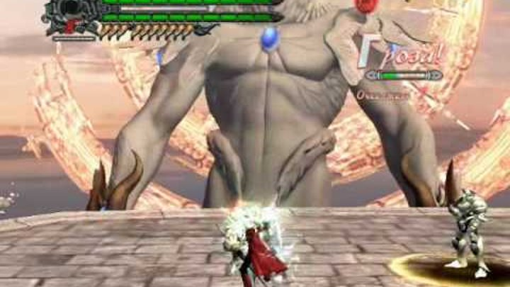 Devil May Cry 4 - Dante vs Savior (18 Mission) (DMD, ND, SSS, PC)