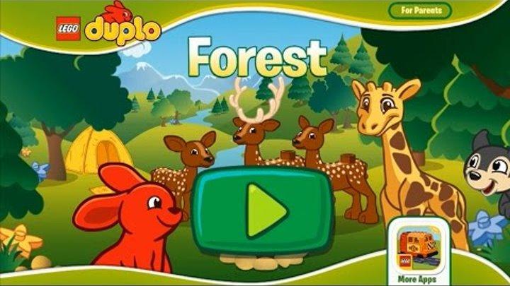 Лего Дупло Лесной заповедник - Лучшая детская обучающая Игра мультик
