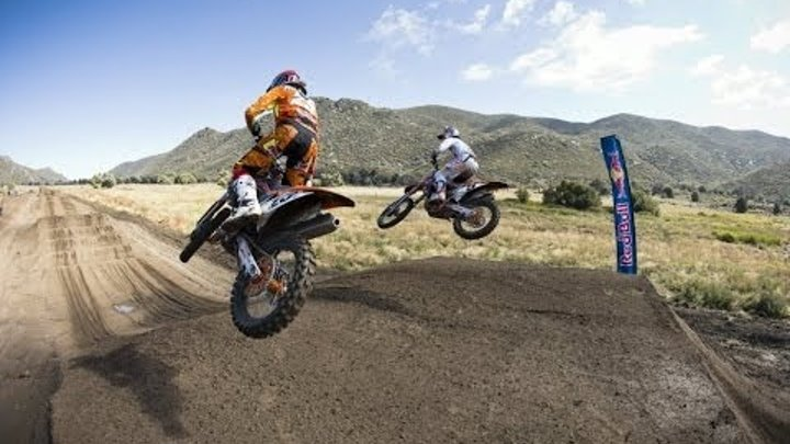 Riding a supercross track unwound - Red Bull Straight Rhythm
