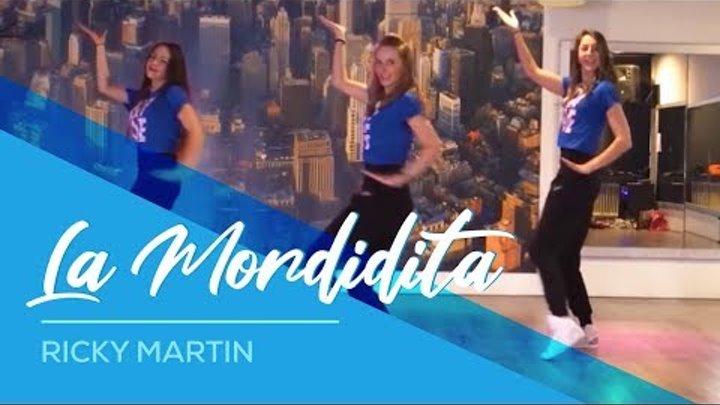 Ricky Martin - La Mordidita - Easy Dance Fitness Choreography - Zumba