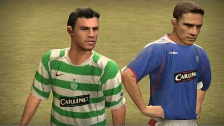 Селтик(Celtic) 1:0 Рейнджерс(Rangers). Футбол. Товарняк. Фифа 07.