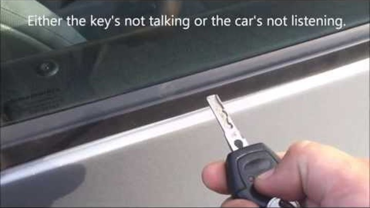 Ford Galaxy/VW Sharan Key Programming Procedure FAIL