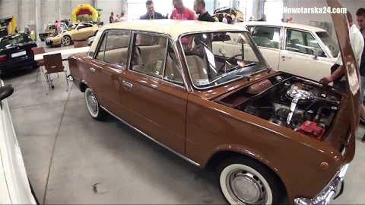 Fiat 125 1974 Mariusza Wlazło AUTO MOTO ARENA 2015 Ostróda targi 30.08.2015 Nowotarska24.com