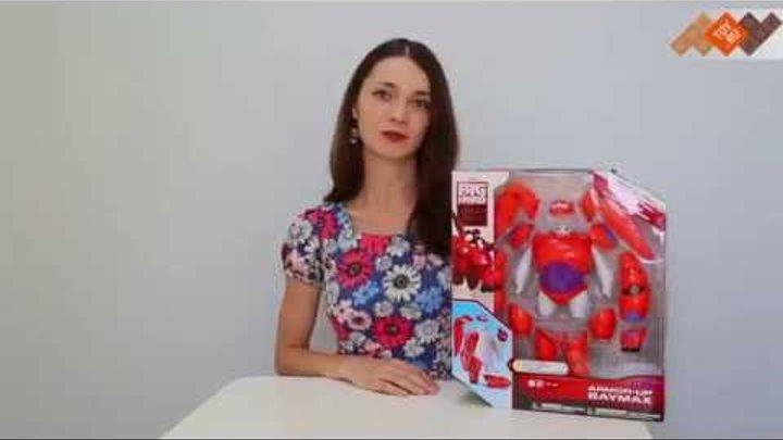 Обзор игрушки Big Hero 6 38700 - Город Героев - Бэймакс с комплектом брони. В продаже на TOY.RU