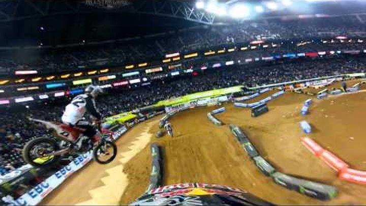 GoPro HD: James Stewart Main Event Monster Energy Supercross 2012