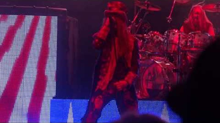 Rob Zombie - We're An American Band (Live) Mayhem Fest. 2013