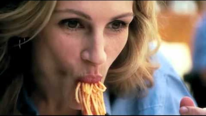 Eat Pray Love - spaghetti con aria