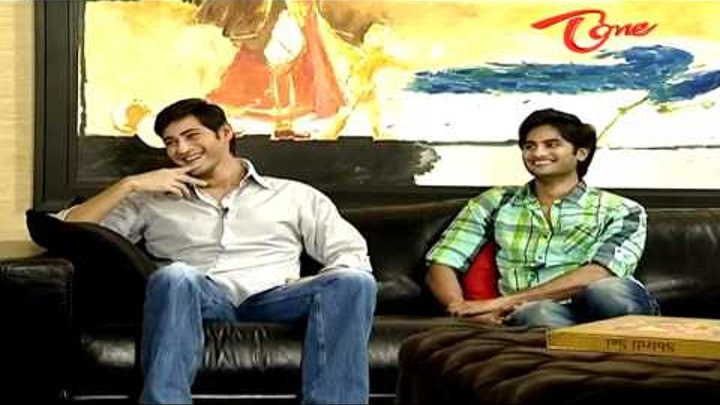 Chit Chat With Mahesh Babu & Sudheer Babu about SMS - 02