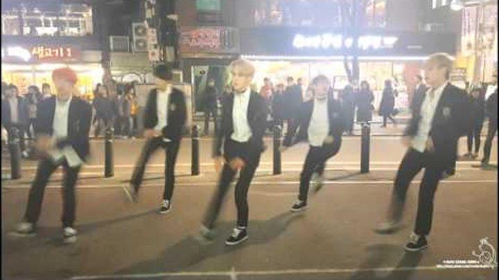 [디엔크루 / DNcrew] 20160103버스킹공연 / 방탄소년단 - 런 (RUN) / BTS - run cover dance