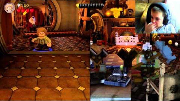 Прохождение Lego Hobbit с Ефимом часть 2