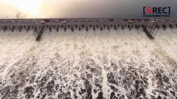 ГЭС - сброс воды 2016