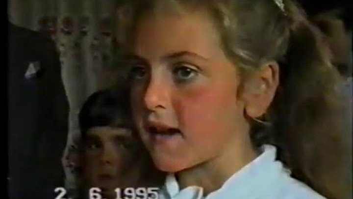 Վերջին Զանգ 02․06․1995թ։ Փոքր Պամաճի միջնակարգ դպրոց ։