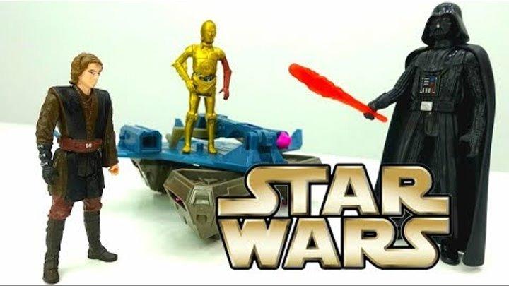 Мультик Звездные войны: Скайуокер против Дарт Вейдера! Видео для мальчиков