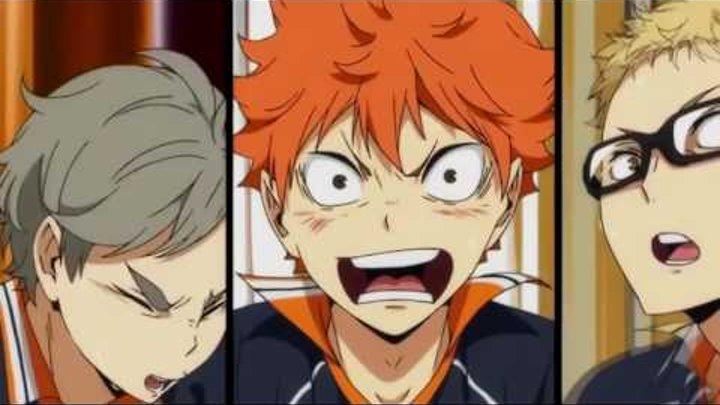 Волейбол аниме 3 сезон!