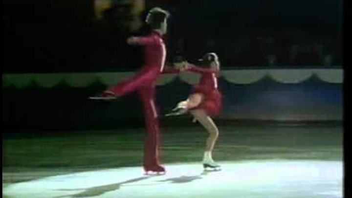 """Gordeeva & Grinkov """"Fly, doves, fly"""" 1985-86 St. Ivel Gala"""