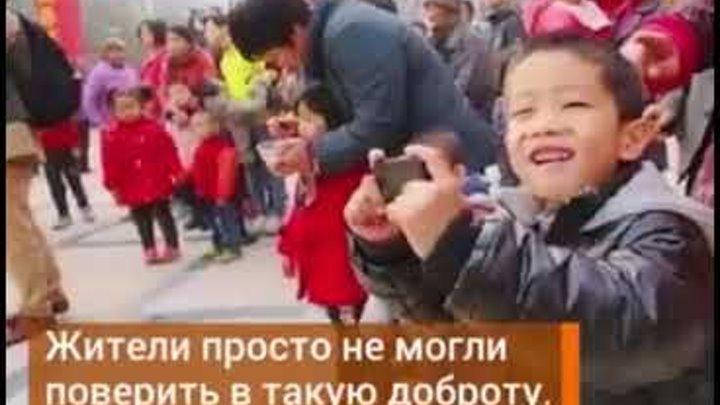 КИТАЕЦ ЗАНОВО ПОСТРОИЛ ДЕРЕВНЮ