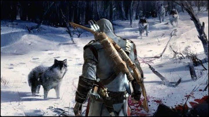 """Assassin's Creed 3 - СКАЗКА ОЖИЛА! / КУДА ПОШЕЛ КОННОР? / МАЛЬЧИК КОТОРЫЙ КРИЧАЛ """"ВОЛКИ""""!"""